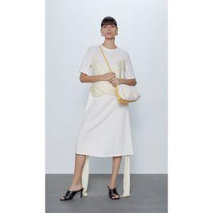 ZARA | Lagenlook Wrap Midi Dress, XL